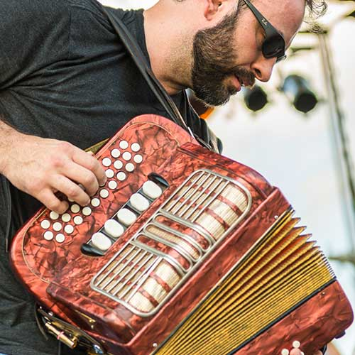 Zydeco Musician