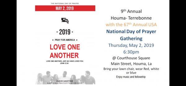 National Day of Prayer Gathering image
