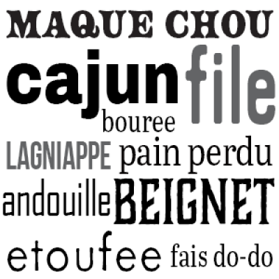 Cajun Wordology