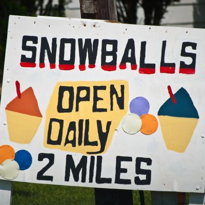Sno-balls: Bayou Country Summer Favorites