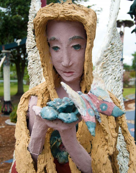 Chauvin Sculpture Garden & Nicholls State University Art Studio