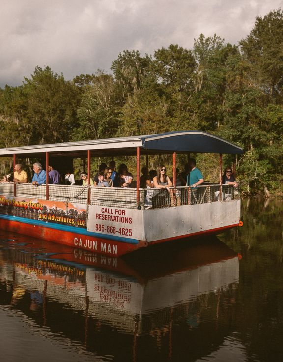 A Cajun Man's Swamp Tours and Adventures