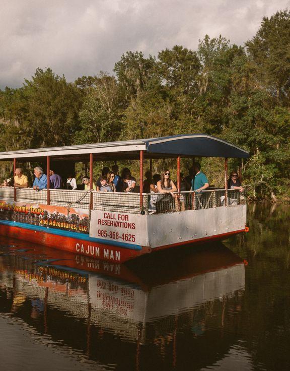 A Cajun Man's Swamp Tours and Adventures